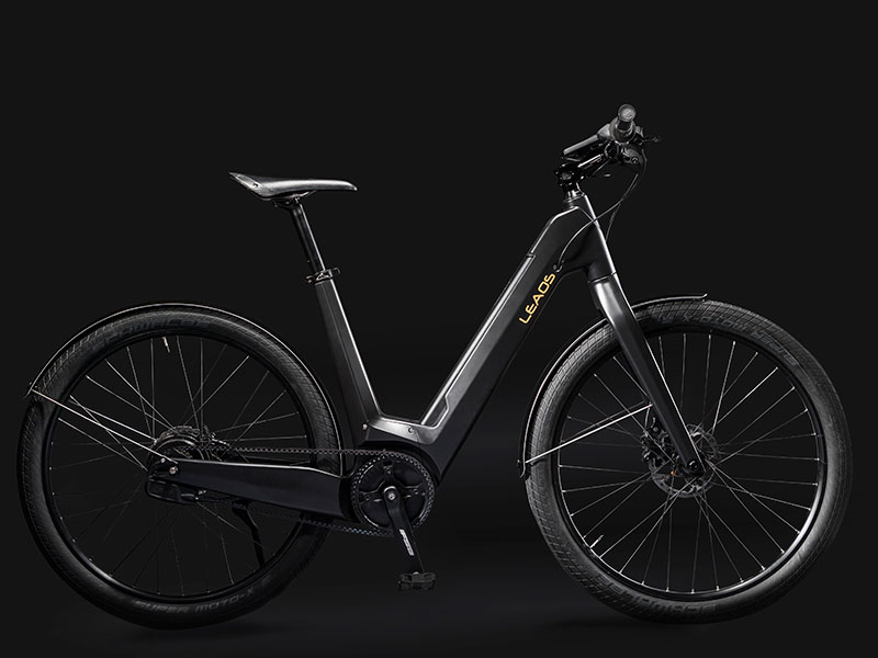 uniquebikes leaos pure design fiets carbon dark