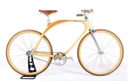 unique bikes speciale wooden bike milano vintage hout